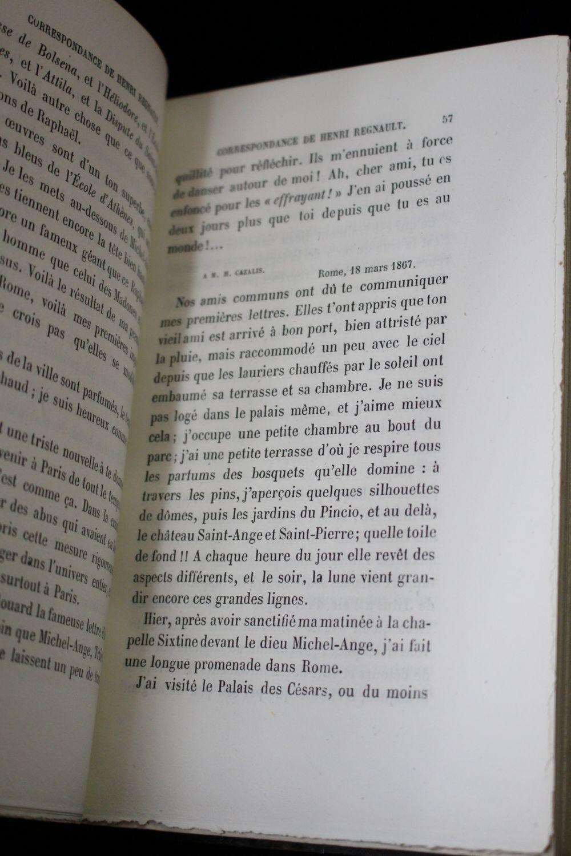 Regnault correspondance de henri regnault recueillie et for Catalogue de plantes par correspondance
