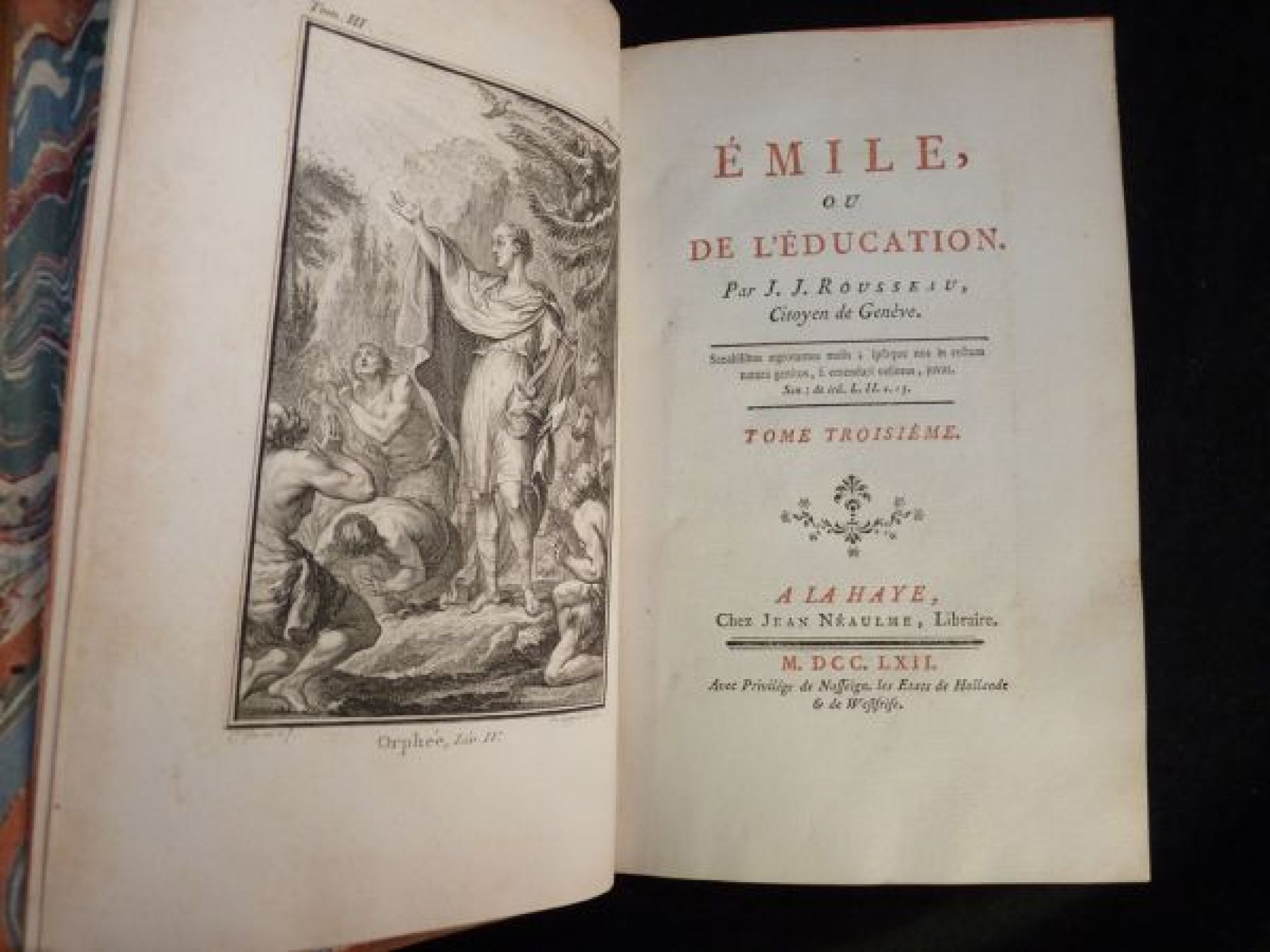 rousseau emile education Jean jacques rousseau's book on education has had a powerful influence  throughout europe, and even in the new world- it was in its day a kind of.