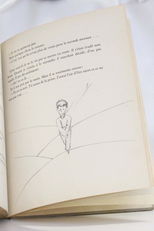 Saint Exupery Le Petit Prince Signed Book First Edition Edition Originale Com