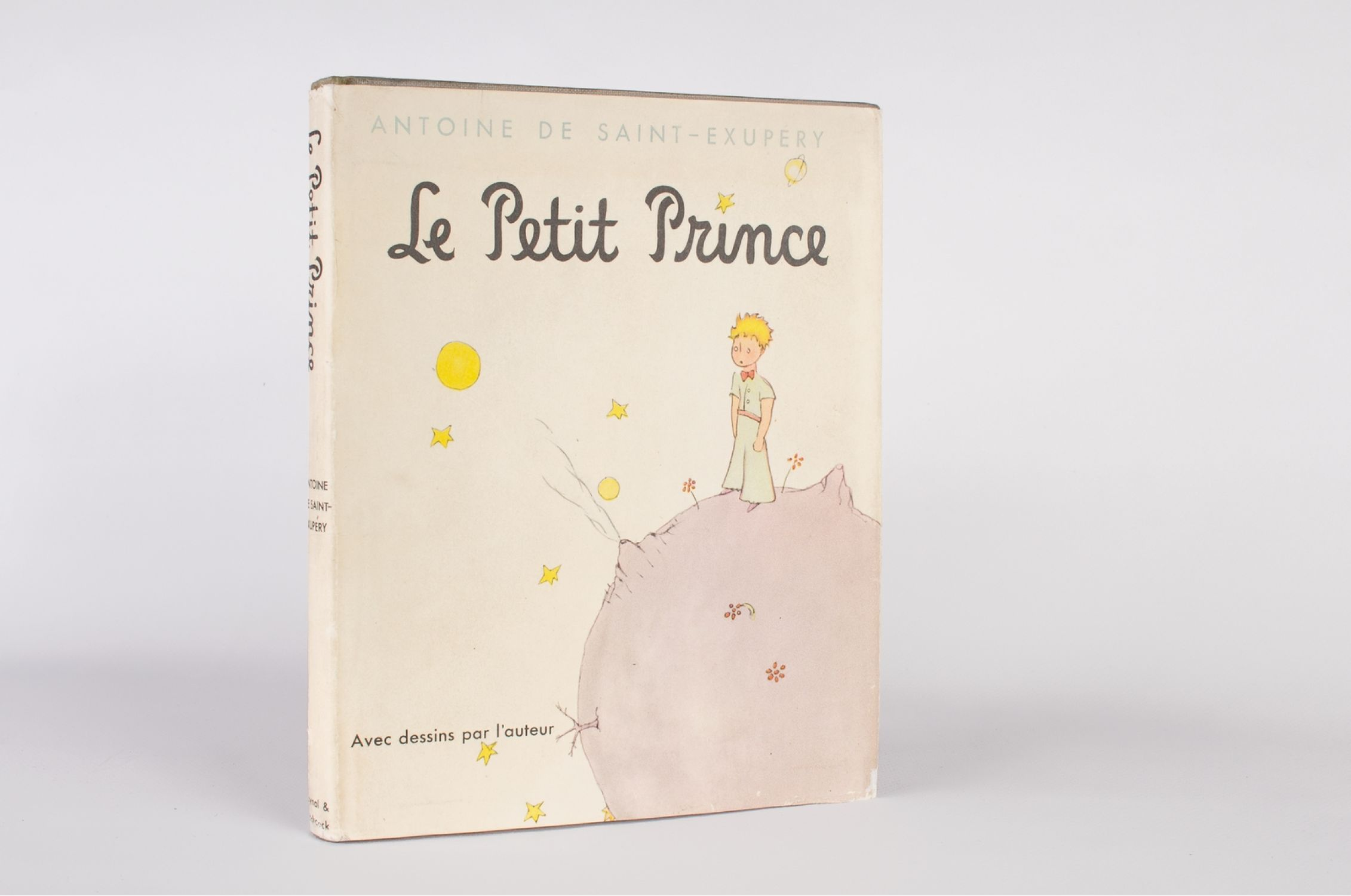 Saint Exupery Le Petit Prince Signed Book First Edition