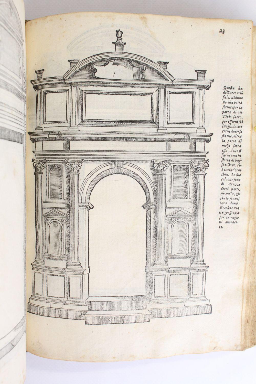 Arco Per Porta serlio : tutte l'opere d'architettura - edition-originale