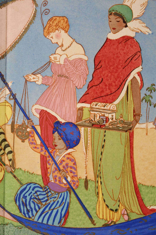 l 39 encens le cinname et la myrrhe pl 1 la gazette du bon ton 1914 n 1 first edition. Black Bedroom Furniture Sets. Home Design Ideas