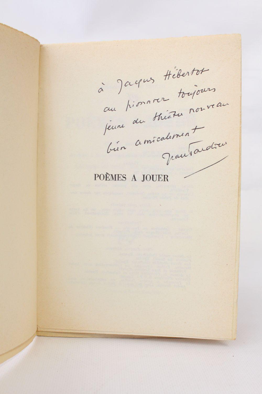 Tardieu Théâtre Ii Poèmes à Jouer Labc De Notre Vie