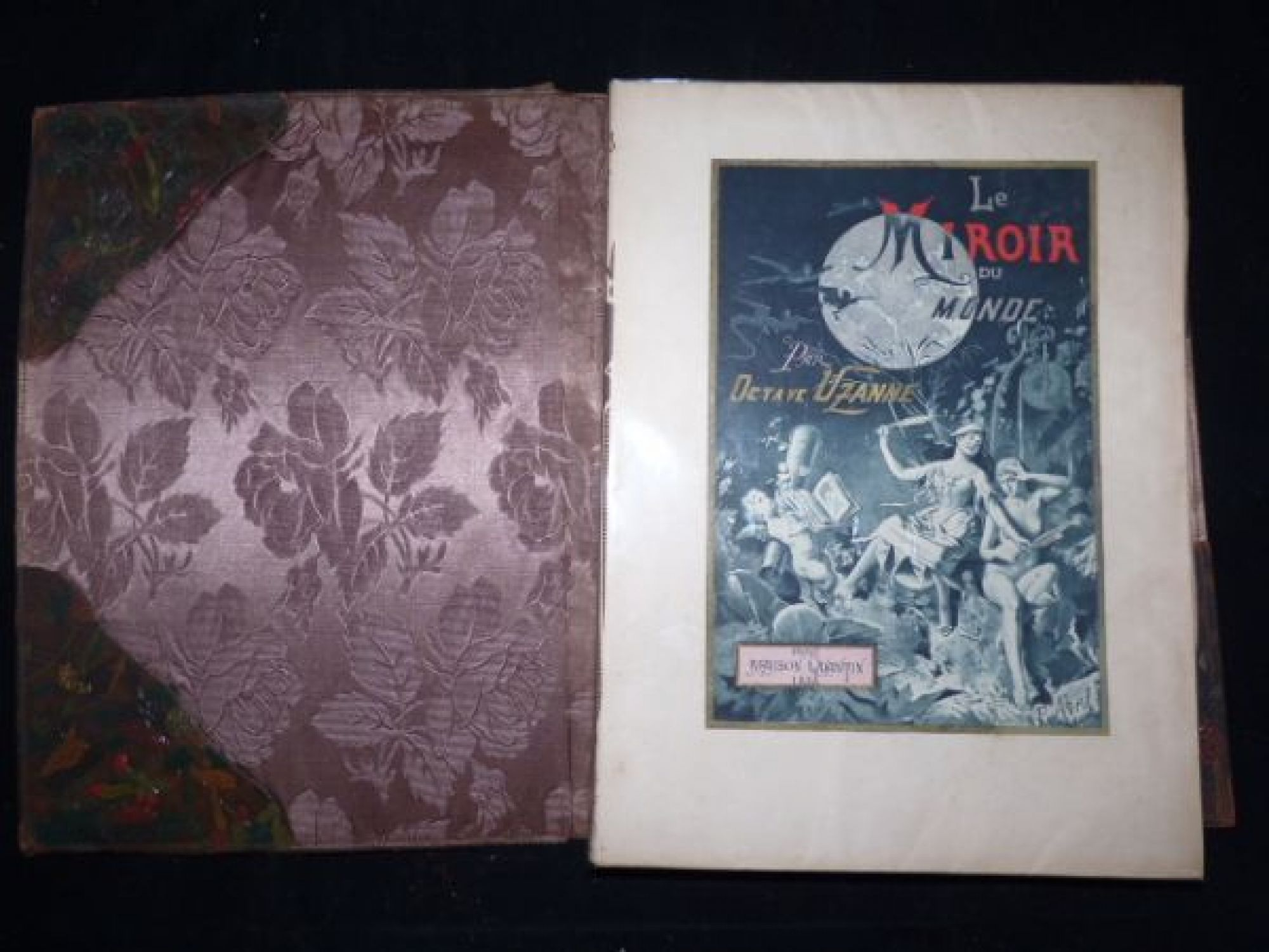 Uzanne le miroir du monde first edition edition for Les baladins du miroir