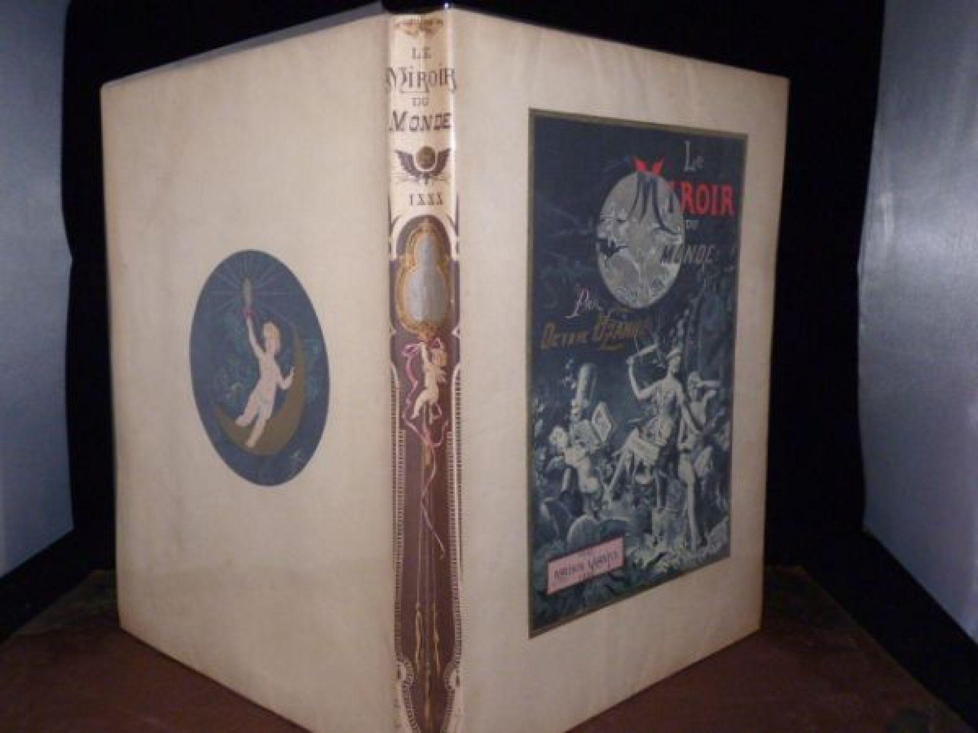 Uzanne le miroir du monde edition originale edition for Miroir du monde