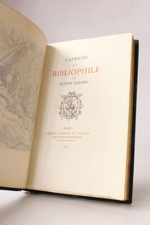 CAPRICES DUN BIBLIOPHILE