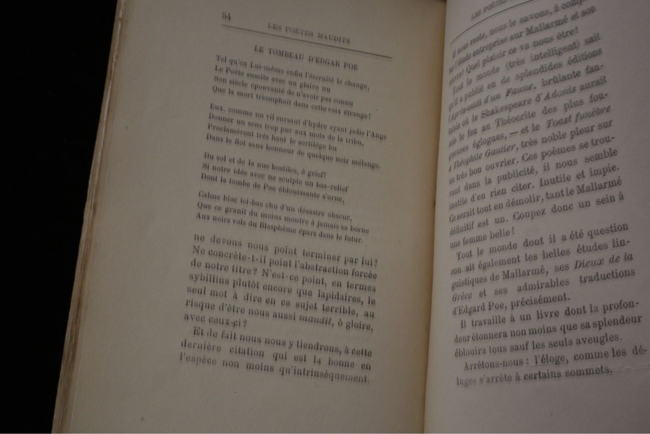 Rimbaud Les Poetes Maudits First Edition Edition