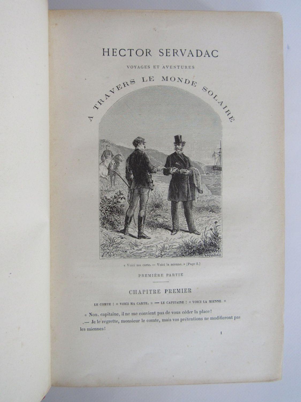 Hector Servadac, deuxieme partie (illustré) (French Edition)