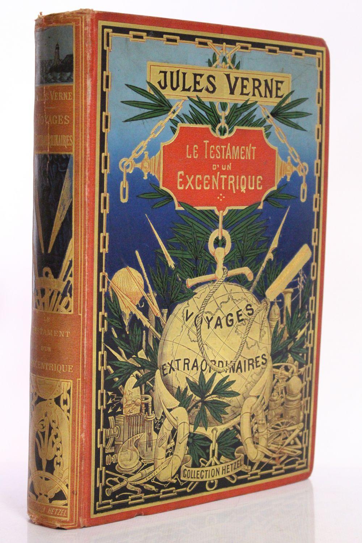 verne le testament d 39 un excentrique first edition