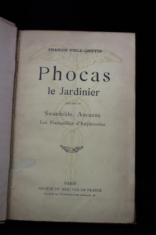 Viele griffin phocas le jardinier autographe edition for Le jardinier