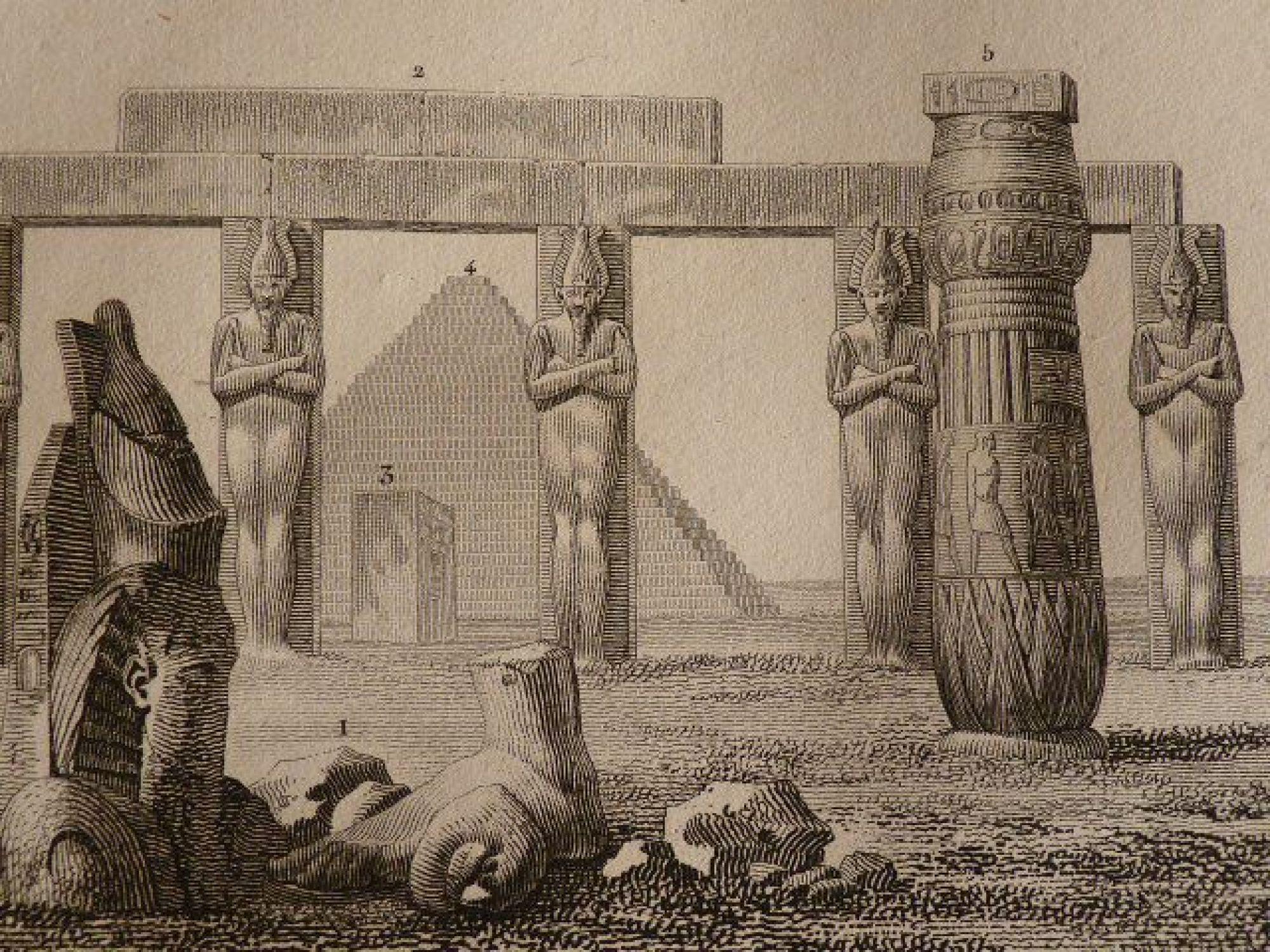 Voyage dans la basse et haute egypte 1 r union de for Architecture egyptienne