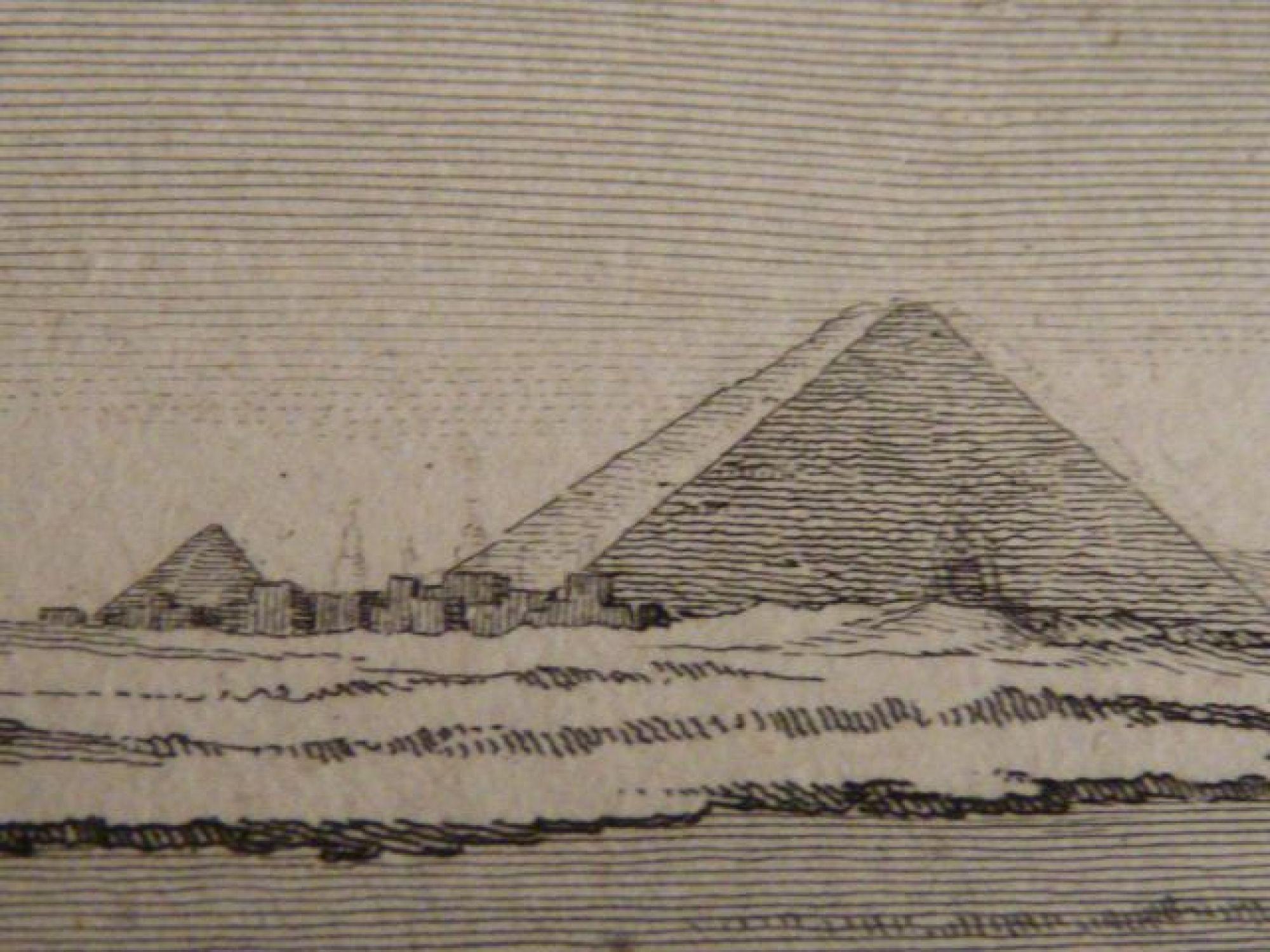 voyage dans la basse et haute egypte intrieur de la pyramide ouverte de djyzh planche 20