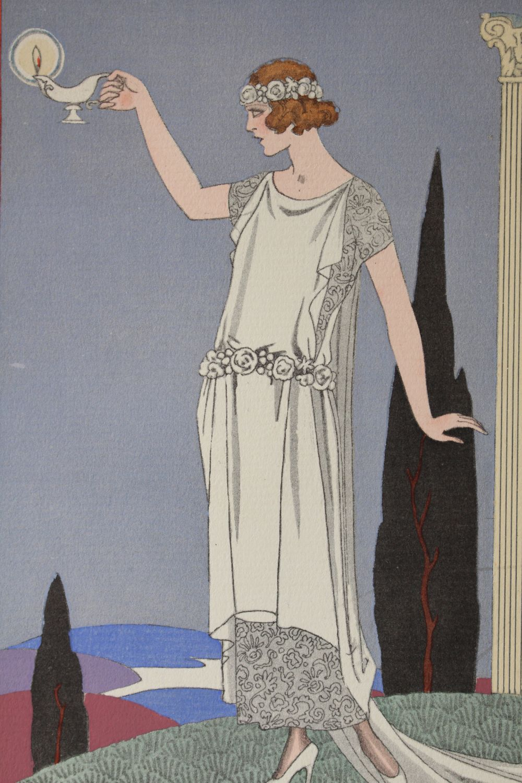 Worth Psyche Robe Du Soir De Worth Pl 68 La Gazette Du Bon Ton 1921 N