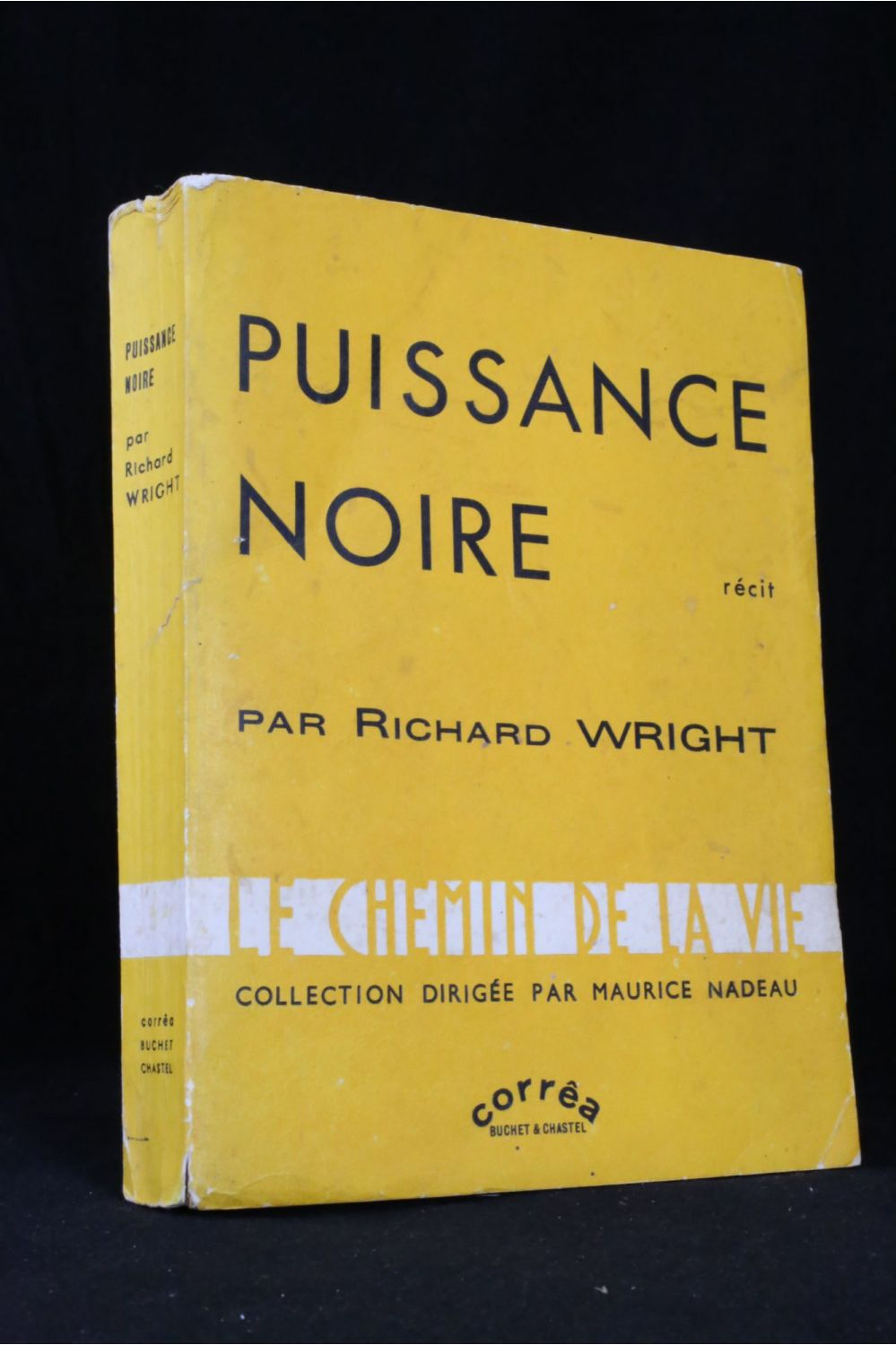 wright puissance noire signed book first edition edition. Black Bedroom Furniture Sets. Home Design Ideas