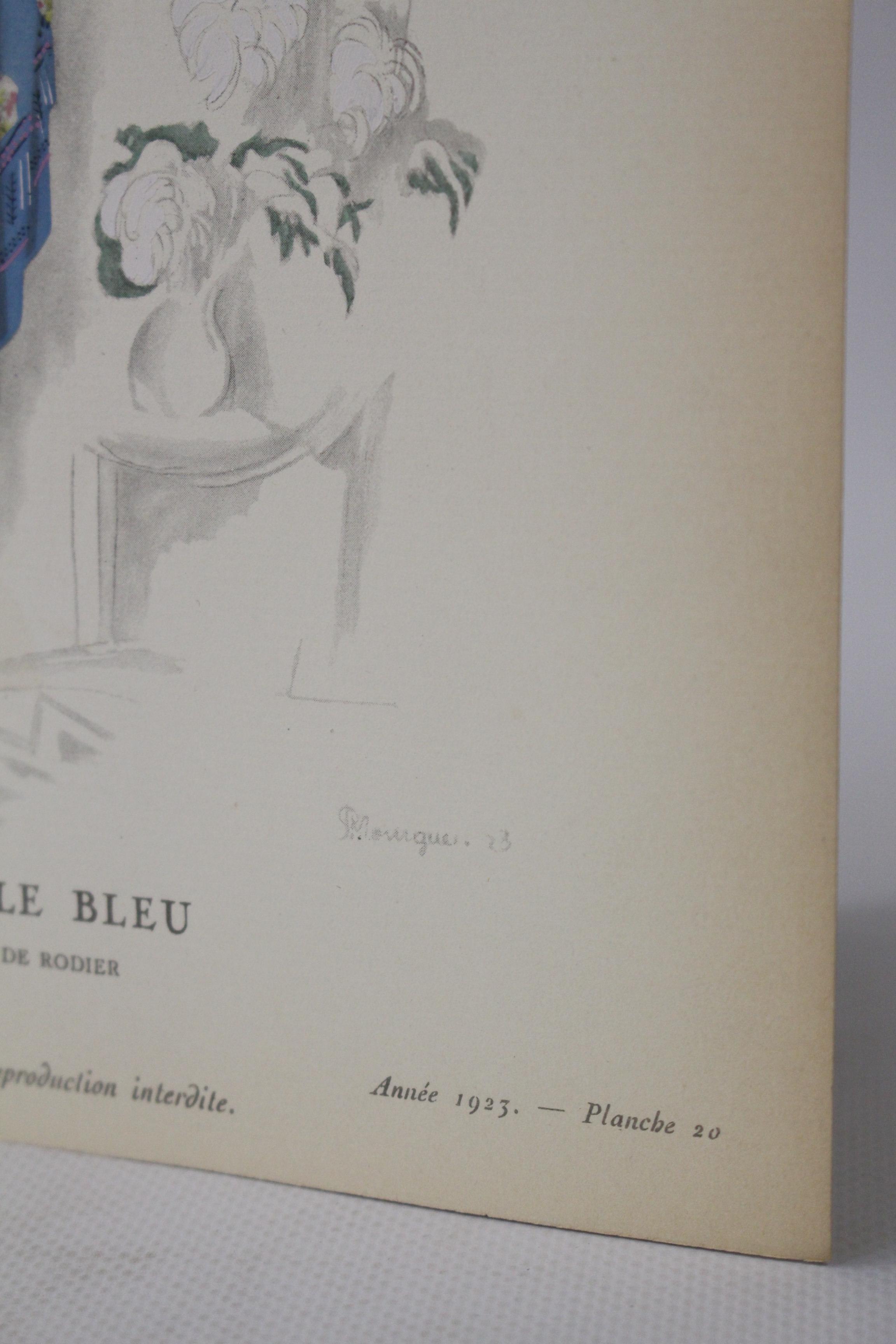 Image ton bleu