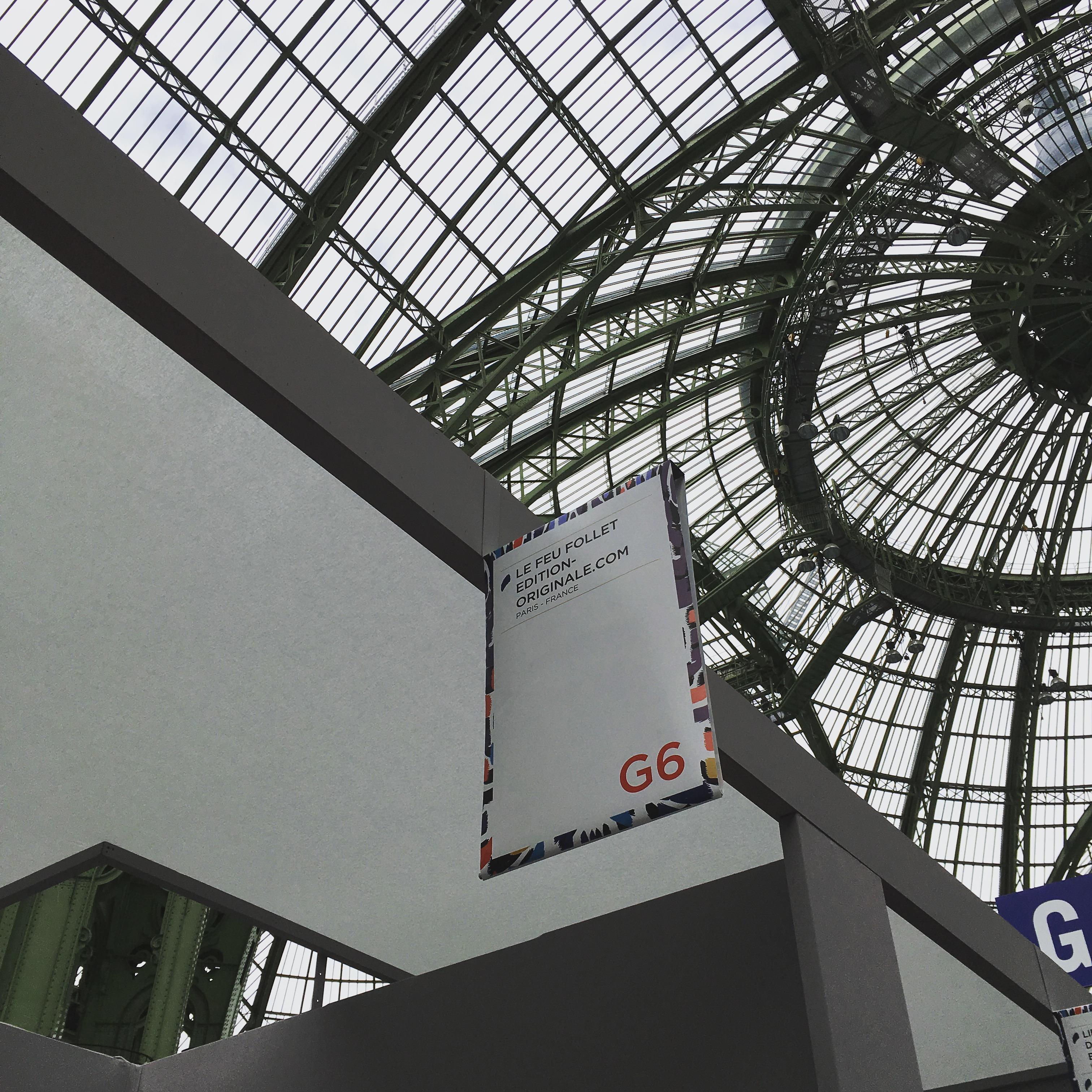 Internationale Ausstellung von alten Buch im Grand Palais