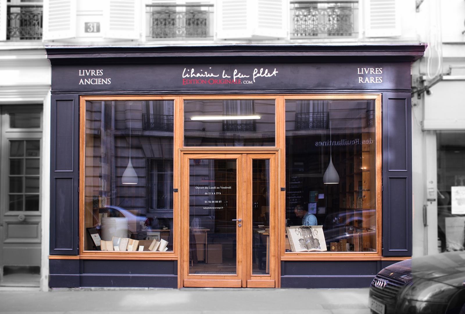 Librairie Ancienne Paris
