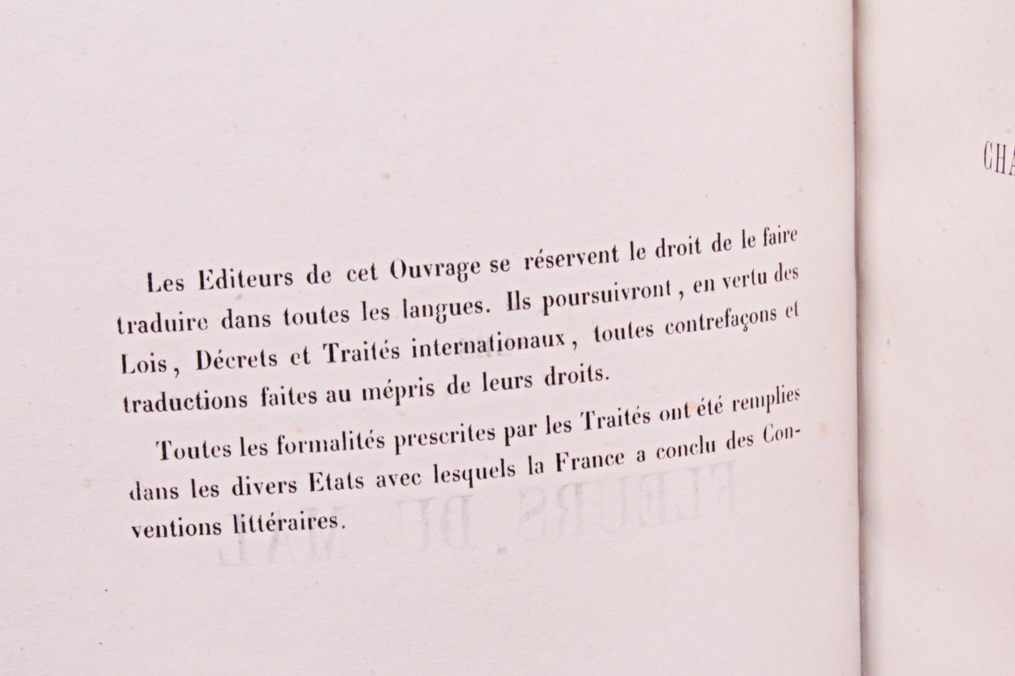 Fleurs du mal Charles Baudelaire 1857